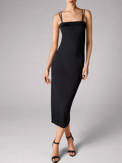 5c2a7bd30ed Shiny Viscose Dress